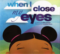 When I close my eyes book cover
